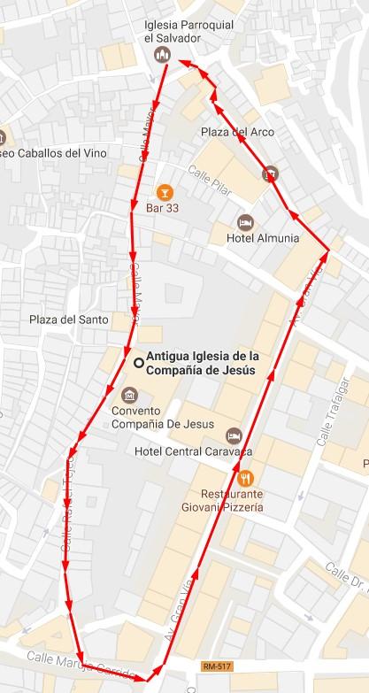 Procesión de la Virgen Blanca 2017 @ Caravaca de la Cruz (Murcia) | Caravaca de la Cruz | Región de Murcia | España